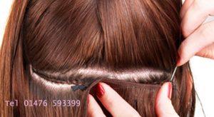 Full track weave 110g hair beauty salon own hair extensions re application full head full pmusecretfo Choice Image