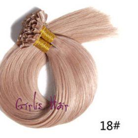 Brazilian-Keratin-U-Tip-1g-strand-Nail-Tip-Fusion-Human-Hair-Extension