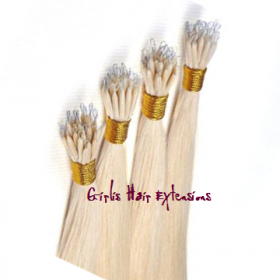 Nano Tip Straight Hair Extensions